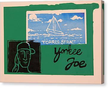 Yankee Joe 2 Canvas Print by Joe Michelli