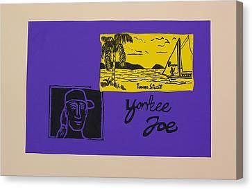 Yankee Joe Canvas Print by Joe Michelli