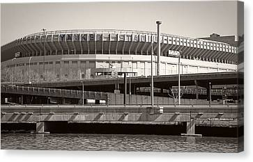 Yankee Stadium    1923  -  2008 Canvas Print by Daniel Hagerman