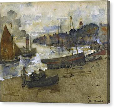Yarmouth Canvas Print