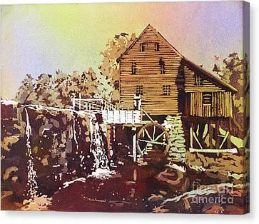Yates Mill Park Canvas Print by Ryan Fox