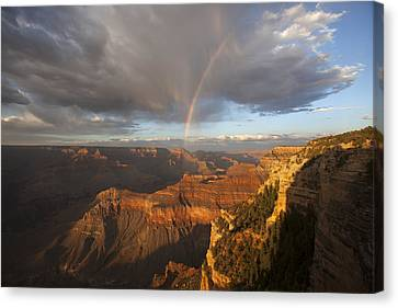 Yavapai Point Rainbow I Canvas Print
