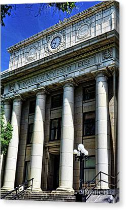 Yavapapi County Court House - Prescott  Canvas Print