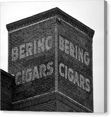 Ybor City Bcf Sign Canvas Print