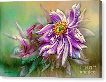 Year Of Mercy Canvas Print by Jean OKeeffe Macro Abundance Art