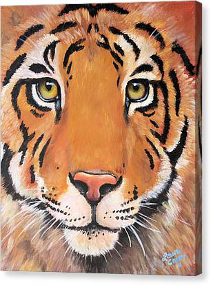 Year Of The Tiger Canvas Print by Laura Carey