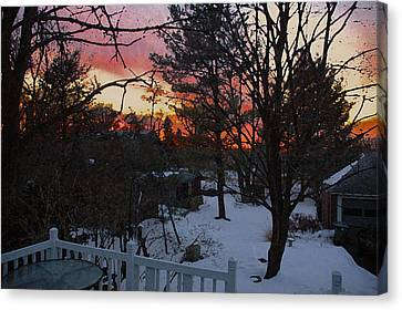 Year's End Two Thousand Ten Canvas Print