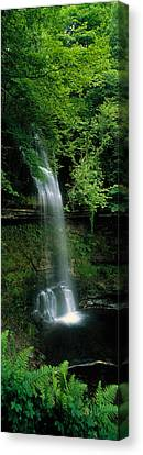 Yeats Waterfall Glencar Co Sligoeire Canvas Print by Panoramic Images