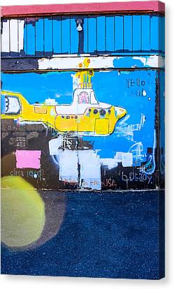 Yello Sub Canvas Print by Colleen Kammerer