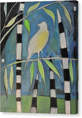 Yellow Bird Up High... Canvas Print by Tim Nyberg