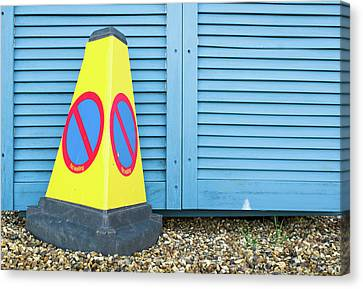 Yellow Cone Canvas Print by Tom Gowanlock