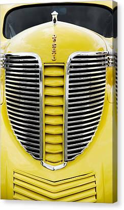 Yellow Desoto Grill Canvas Print by Patrick Chuprina
