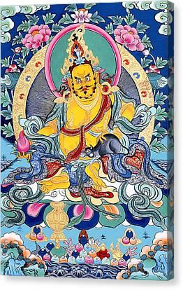 Yellow Jambhala 31 Canvas Print by Lanjee Chee