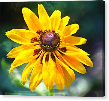 Yellow One Canvas Print by Marty Koch
