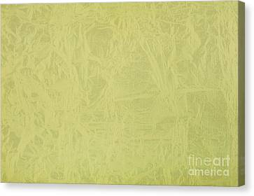 Yellow Ragged Cardboard Texture Canvas Print by Arletta Cwalina