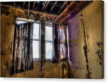 Yellow Room Canvas Print by Michael Dugger