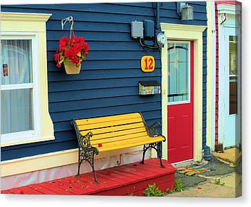 Yellow Seat Canvas Print