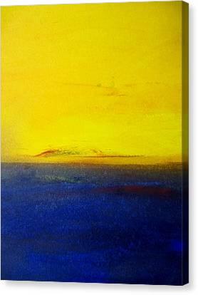 Yellow Sky 2 Canvas Print