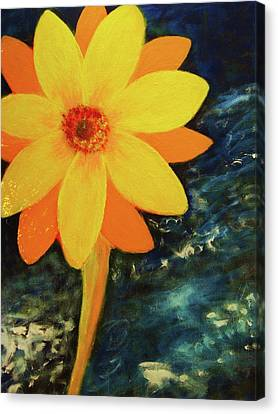 Yellow Treat Canvas Print by John Scates