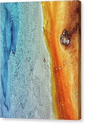 Yellowstone Abstract Canvas Print