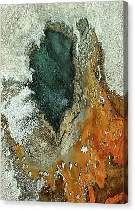 Yellowstone Landscape Canvas Print