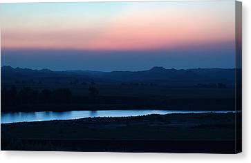 Yellowstone River Evening Canvas Print