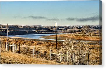 Yellowstone River View Canvas Print