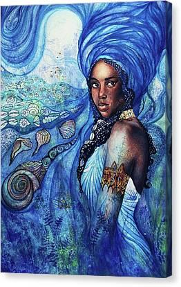 Yemoya Canvas Print