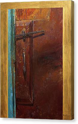 Yesterday Canvas Print - Yesterday. First Part Of Diptych ''golden Key'' by Victoria Kharchenko