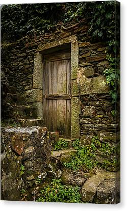 Yesterday's Garden Door Canvas Print