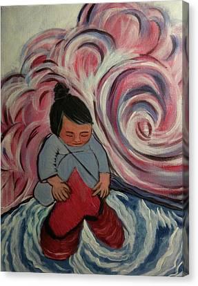 Yesterday's Gone Canvas Print by Juliann Sweet
