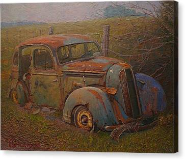 Yesteryear Canvas Print by Terry Perham