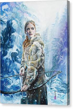 Ygritte The Wilding Canvas Print