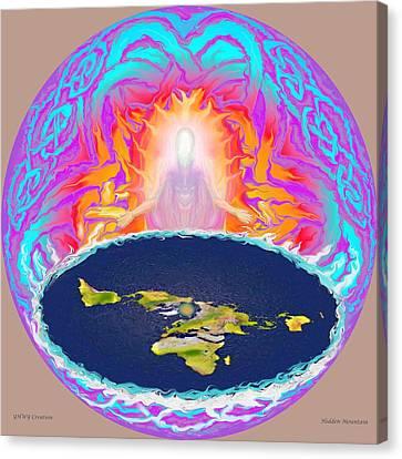 Yhwh Creation Canvas Print