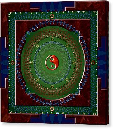 Yin Yang Canvas Print by Stephen Lucas