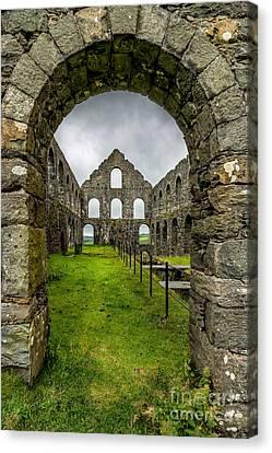 Ynysypandy Slate Mill Canvas Print by Adrian Evans