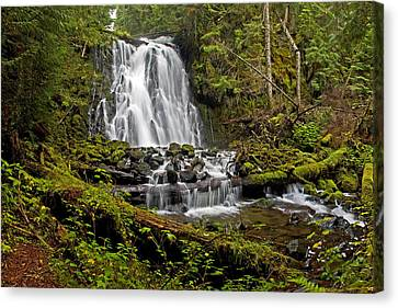 Yocum Falls. Oregon Canvas Print by Ulrich Burkhalter