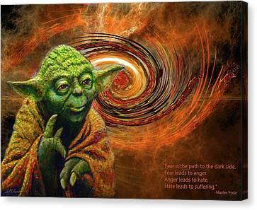 Canvas Print - Yoda-no Fear by Michael Durst