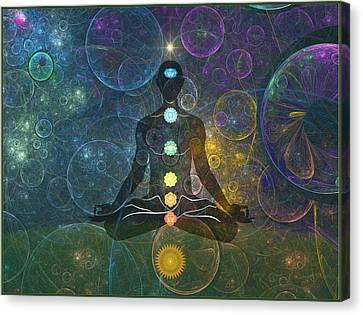 Yoga Canvas Print by Harald Dastis