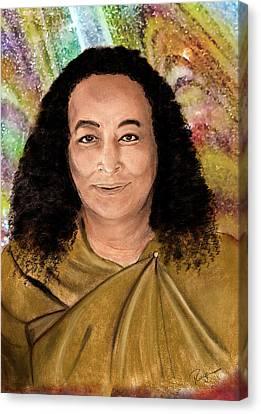 Yogananda Canvas Print by Roger Hanson