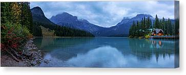 Canvas Print featuring the photograph Yoho by Chad Dutson
