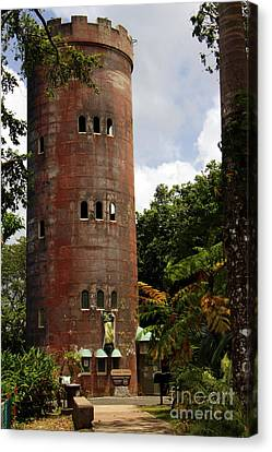 Yokahu Observation Tower El Yunque Rain Forest Puerto Rico Canvas Print by Charlene Cox