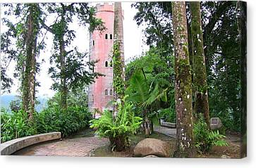 Yokahu Observation Tower Canvas Print by Walter Rivera Santos