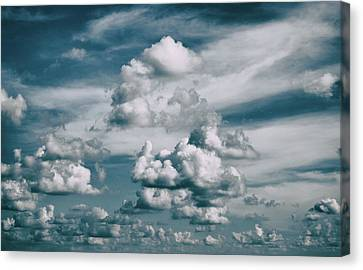 Canvas Print featuring the photograph Yonder by Tom Druin