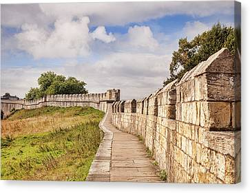 York City Walls, England Canvas Print by Colin and Linda McKie