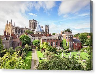 York Minster Canvas Print by Colin and Linda McKie