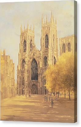 York Minster Canvas Print by Peter Miller