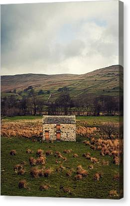 Farming Barns Canvas Print - Solitary by Chris Dale