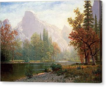 Yosemite Canvas Print by MotionAge Designs