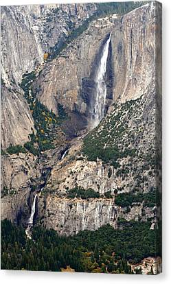 Canvas Print featuring the photograph Yosemite Falls by Lynn Bawden